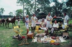 Slim Aarons, Polo Party, 1981 (Slim Aarons Estate Edition)