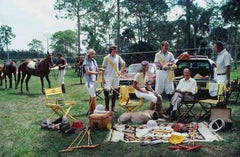 Slim Aarons, Polo Party