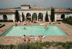 Slim Aarons, Pool At Saint Tropez