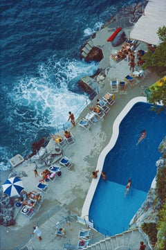 Slim Aarons Pool On Amalfi Coast