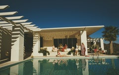 Slim Aarons, Poolside in Arizona (Slim Aarons Estate Edition)