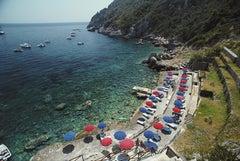 Slim Aarons 'Porto Ercole Beach' Italy (Slim Aarons Estate Edition)