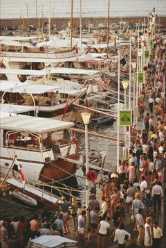 Slim Aarons, Saint-Tropez Seafront (Slim Aarons Estate Edition)