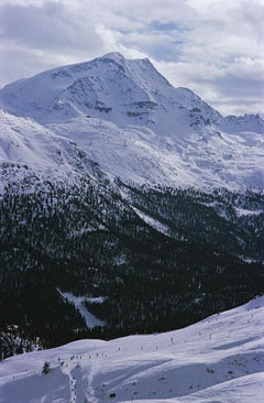 Slim Aarons, Ski Slope In St. Moritz (Estate Edition)