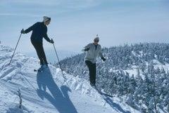 Slim Aarons, Skiers At Sugarbush (Estate Edition)
