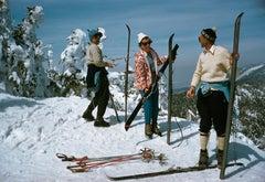 Slim Aarons 'Skiing at Sugarbush'