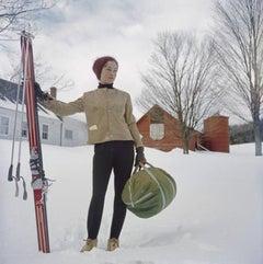 Slim Aarons, Skiing in New Hampshire