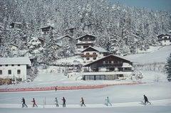 Slim Aarons, Skiing In Seefeld