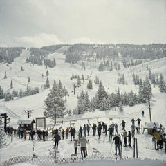 Slim Aarons, Skiing In Vail II (Estate Edition)