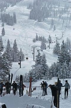 Slim Aarons, Skiing In Vail III (Estate Edition)