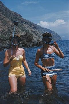 Slim Aarons, Snorkelling (Slim Aarons Estate Edition)