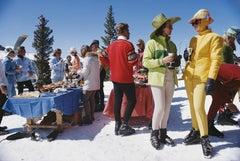 Slim Aarons 'Snowmass Gathering' (Aarons Estate)
