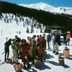 Slim Aarons - Snowmass Picnic - Estate Stamped