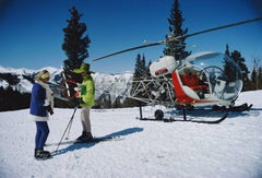 Slim Aarons: Snowmass Village Helicopter (Sim Aarons Estate Edition)