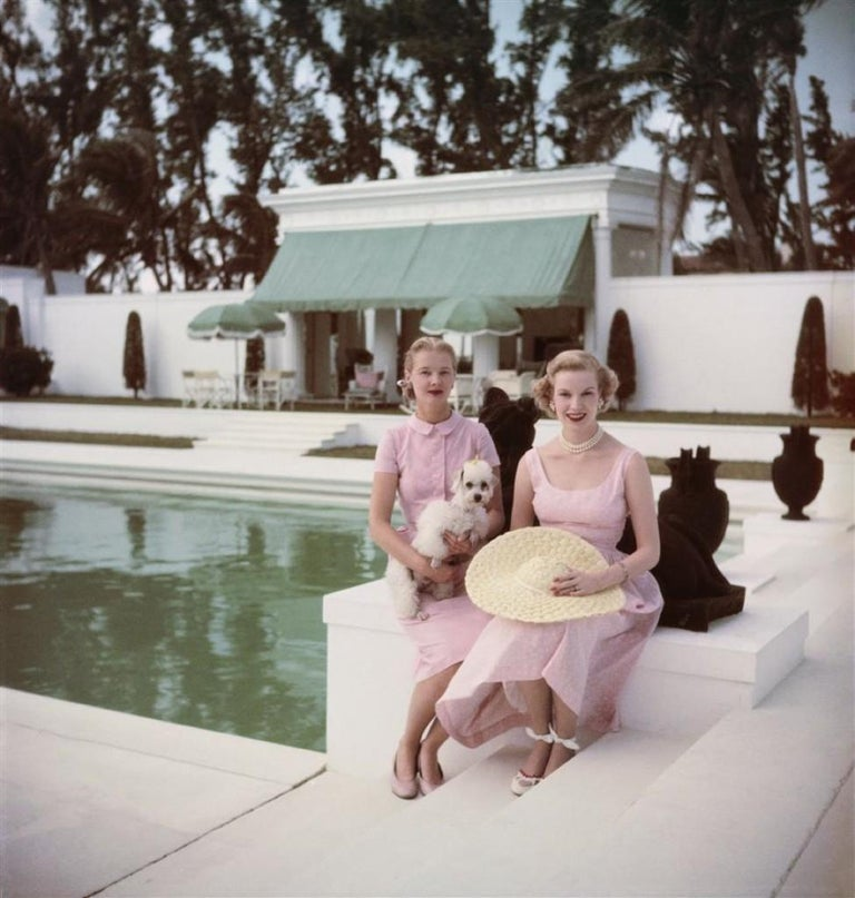Slim Aarons - Socialites - Estate Stamped - Photograph by Slim Aarons