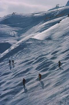 Slim Aarons, St Moritz Skiers (Estate Edition)