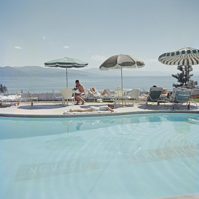 Slim Aarons - State Line - Estate Edition  - Photograph by Slim Aarons