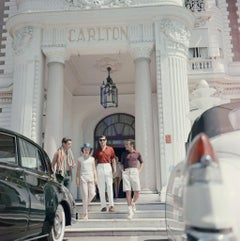 Slim Aarons - Staying At The Carlton - Estate Stamped