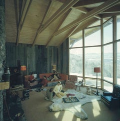 Slim Aarons Sugarbush Chalet