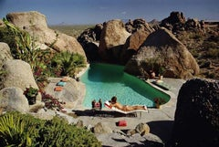 """Slim Aarons, """"Sunbathing in Arizona"""" (Slim Aarons Estate Edition)"""