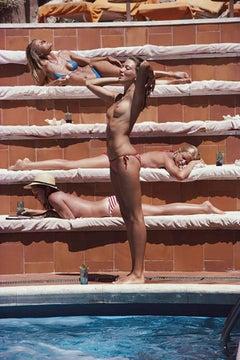 Slim Aarons, Sunbathing in Capri, Catherine Wilke