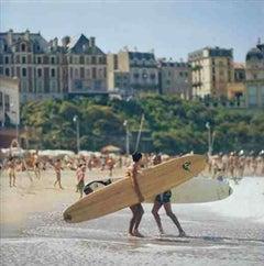 Slim Aarons, Surfing in Biarritz