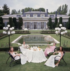 Slim Aarons - The Romanones - Estate Stamped