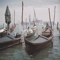 Slim Aarons 'Venice Gondolas' (Slim Aarons Estate Edition)