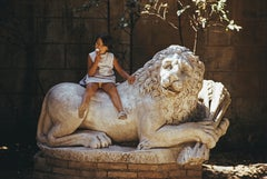 Slim Aarons, Villa Borghese Lion
