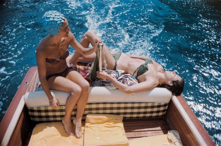 Slim Aarons, Vuccino and Rava in Capri (Aarons Estate Edition) 1