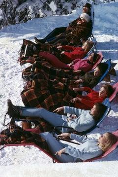 Slim Aarons 'Winter Suntans'