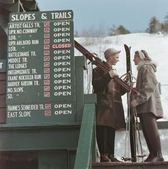 """Slopes & Trails"" by Slim Aarons, NEW, Estate Stamped, Limited, Multiple Sizes"
