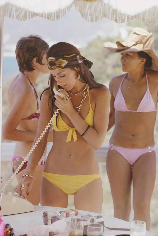 Slim Aarons 'Social Call' (Slim Aarons Estate Edition)