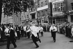 Soho Waiters' Race (1955) - Silver Gelatin Fibre Print - Limited Estate Stamped