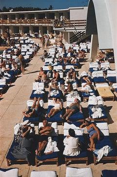 Sunbathers in Miami - Slim Aarons, 20th century, Florida, Beaches, Palms, Photo