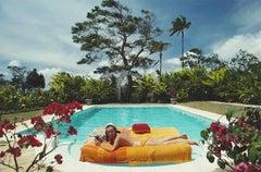 Slim Aarons Sunbathing In Barbados