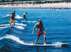 Surfing Brothers - Slim Aarons, 20th Century, Watersports, Sea, Surf Photography
