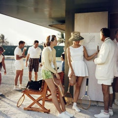 Tennis in The Bahamas, 1957 - Slim Aarons, 20th Century, Sport photography