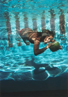 Underwater Drink (Slim Aarons Estate Edition)