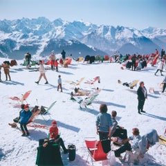 Verbier Vacation - Slim Aarons, 20th Century, Winter sports, Snow imagery, Photo