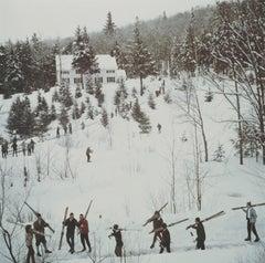 Vermont Winter (1960) Limited Estate Stamped - Grande XL