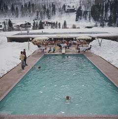 Winter Pool (1964) Limited Estate Stamped - Grande XL