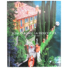 Slim Aarons La Dolce Vita Library or Coffee Table Book