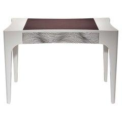 Slim Contemporary Desk Table by Luísa Peixoto