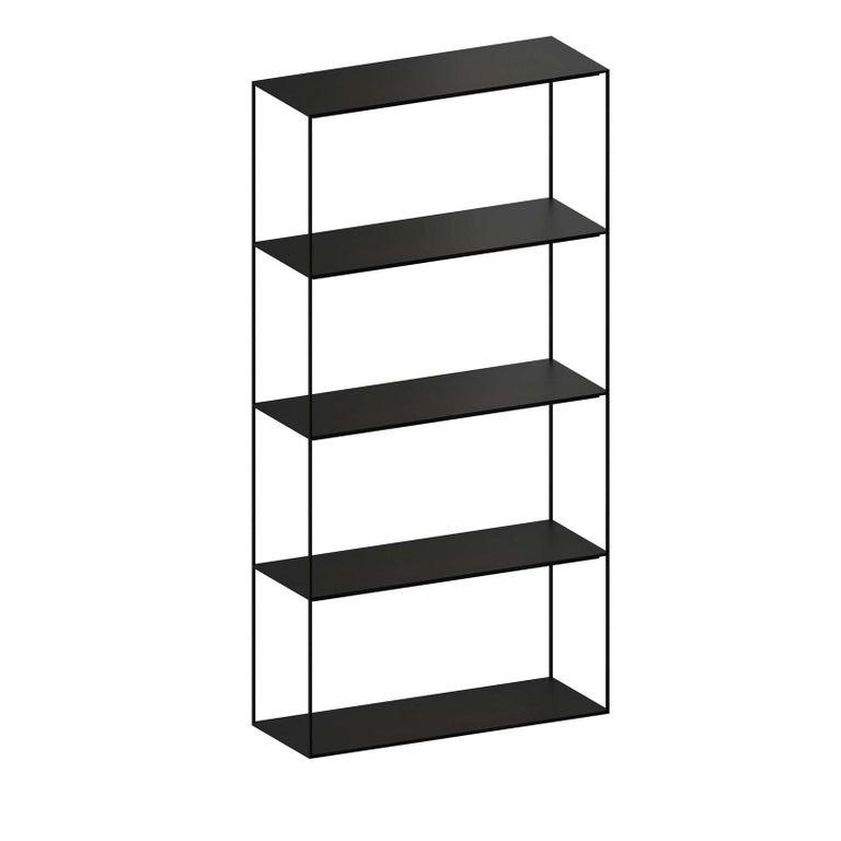 Italian Slim Irony Bookshelf For Sale