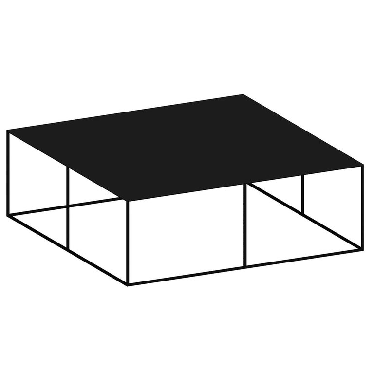 Slim Irony Small Coffee Table For Sale