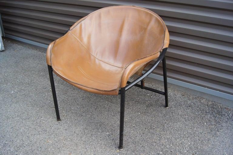 20th Century Sling Chair, Model BO 360 by Erik Ole Jørgensen for Olaf Black For Sale