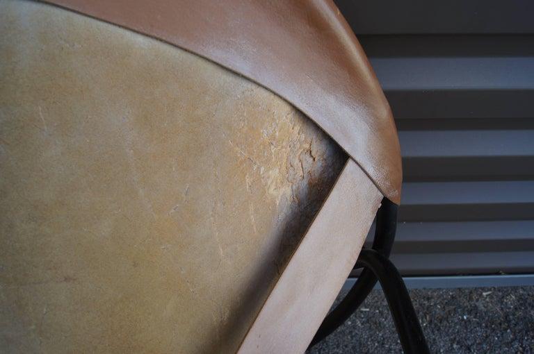 Sling Chair, Model BO 360 by Erik Ole Jørgensen for Olaf Black For Sale 1