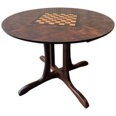 Sling Collection Round Game Table by Don Shoemaker