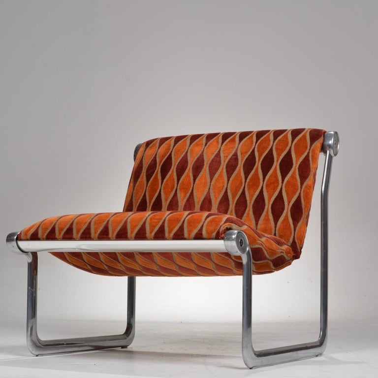 Late 20th Century Sling Lounge Chairs by Hannah Morrison for Knoll International For Sale